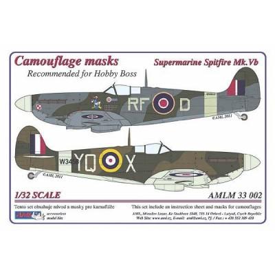 S.Spitfire Mk.Vb - Camouflage masks