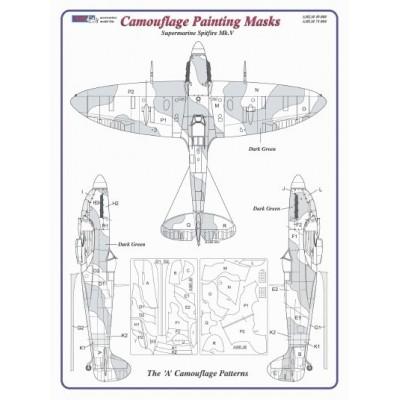 Camouflage Paintig  Masks – S.Spitfire Mk.V