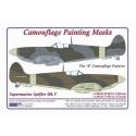 """S.Spitfire Mk.V - Camouflage Paintig  Masks  """"B"""""""