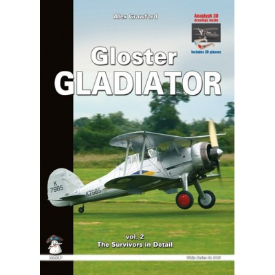 Gloster Gladiator vol. 2 - The Survivors in Detail