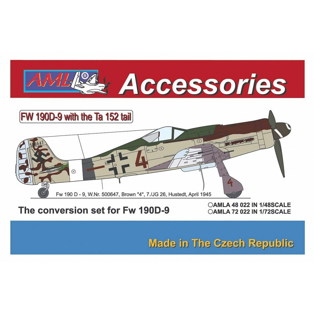 Fw 190D-9 with the Ta-152 tail
