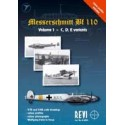 Messrerschmitt Bf 110,Volume I- C, D,E  variants