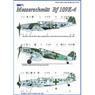 Messerschmitt Bf 109 K -4, Part I