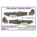 "S.Spitfire Mk.I,II  ""A"" - Camouflage Paintig  Masks"