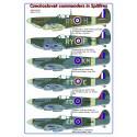 Czechoslovak commanders in the Spitfires