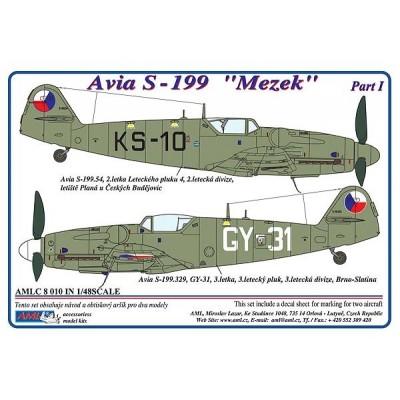 "Avia  S-199   "" Mezek "", Part I"