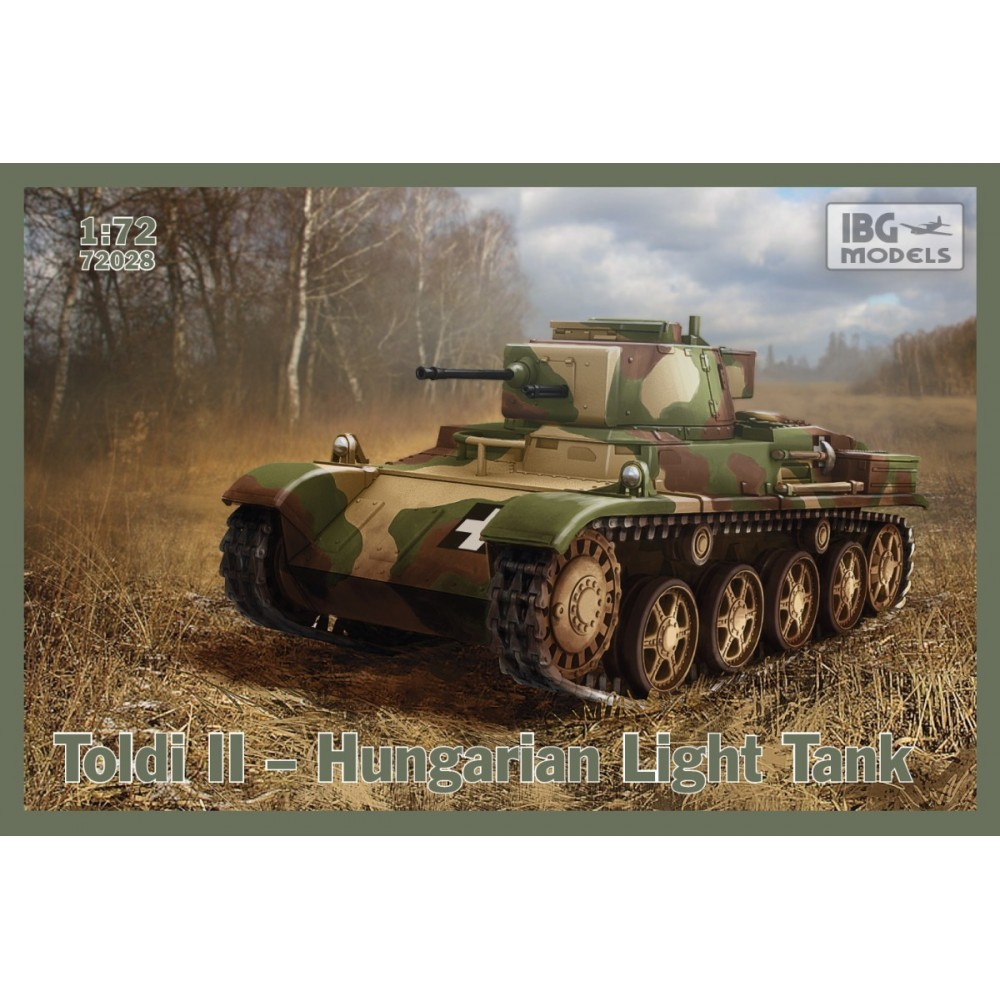 Toldi II Hungarian Light Tank