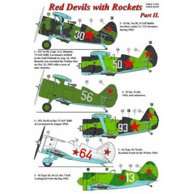 Red Devils with Rockets, Part III