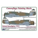 Bristol Beaufighter Mk.X / Camouflage Painting  Masks