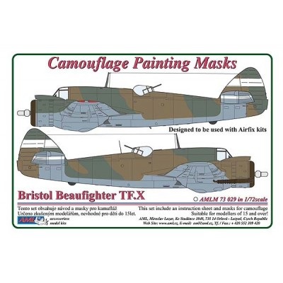Bristol Beaufighter Mk.X / Camouflage Painting  Masks