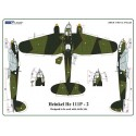 Heinkel He 111P-2  - Camouflage Painting  Masks