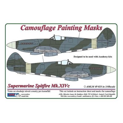 S.Spitfire Mk.XIVc - Camouflage Painting  Masks
