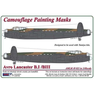 vro Lancaster B.I / III - Camouflage Painting  Masks