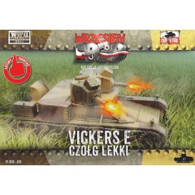 Vickers 6 ton Mk. E with twin turrets