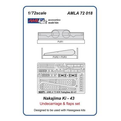 Nakajima Ki 43 I,II,III / Undercarriage & flaps set
