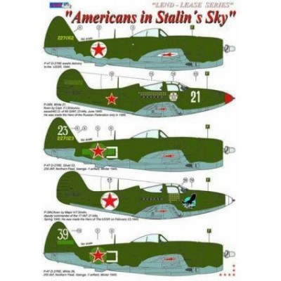 Americans in Stalin´s Sky / Lend - Lease series