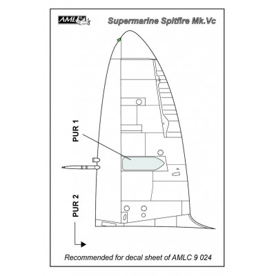 Spitfire Mk.Vc - Westland´s cannon bulges