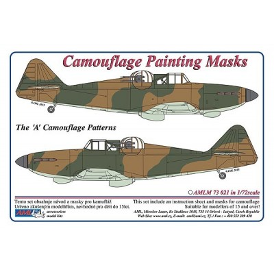 "Defiant Mk.I ""A""- Camouflage Painting  Masks"
