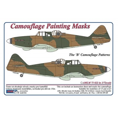"Defiant Mk.I ""B""- Camouflage Painting  Masks"