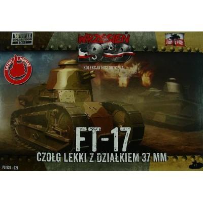 Renault FT-17 light tank with 37mm gun