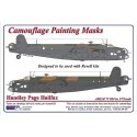 Handley Page Halifax Mk.II - Camouflage Painting  Masks