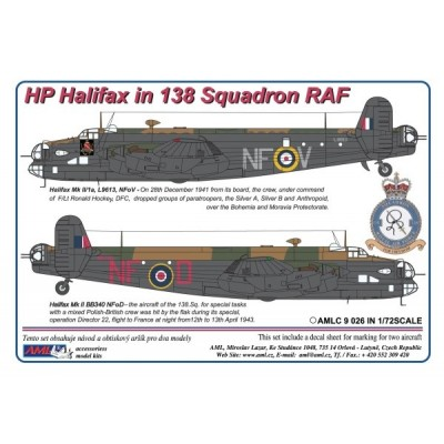 HP Halifax in 138Squadron RAF