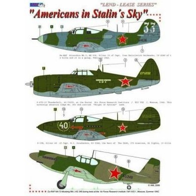 Americans in Stalin´s Sky / Lend - Lease series,Part III