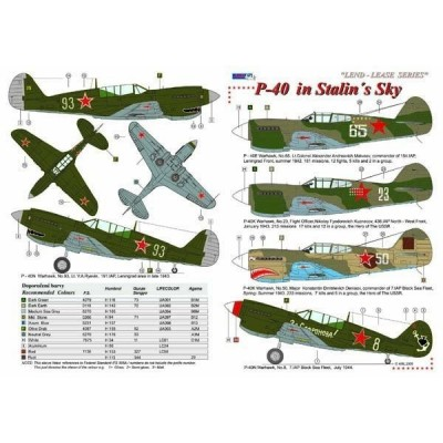 P-40 / Lend - Lease series, Part II
