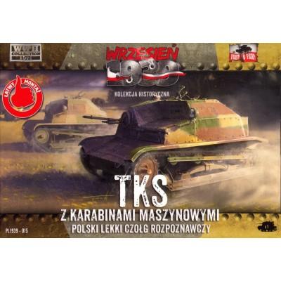 TKS z karabinami maszynowymi