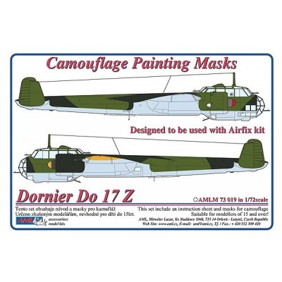 Dornier Do 17 Z - Camouflage Painting  Masks