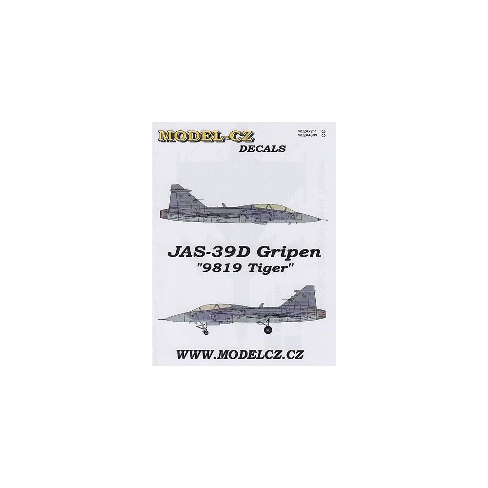 "JAS-39D Gripen ""9819 Tiger"""