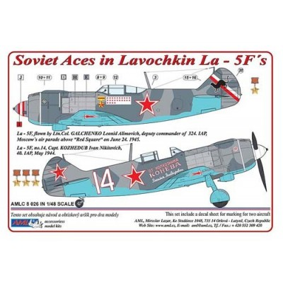 Soviet Aces in Lavochkin La - 5F´s. Part I