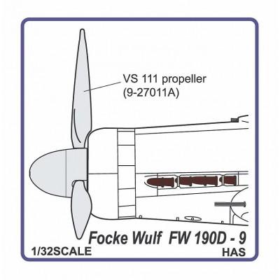 Fw 190 D-9  propeller VS-111