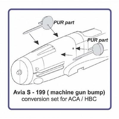 Avia S - 199 machine gun bump