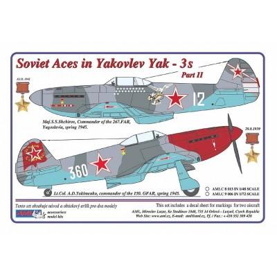 Soviet Aces in Yakovlev Yak-3´s , PART II