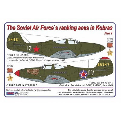 The Soviet Air Force´s ranking aces in Kobras, PART I