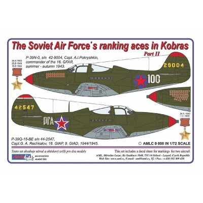 The Soviet Air Force´s ranking aces in Kobras, PART II