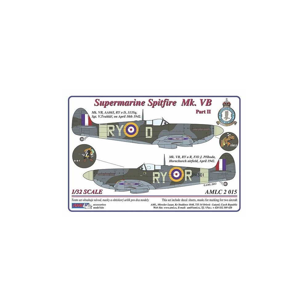 Supermarine Spitfire Mk. VB, Part II