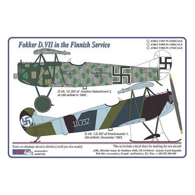 Fokker D.VII in the Finnish Service