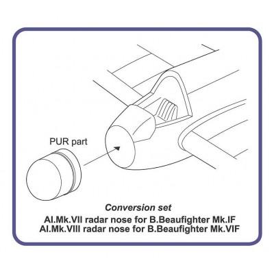 AI.Mk.VII / Mk.VIII radar nose for B.Beaufighter
