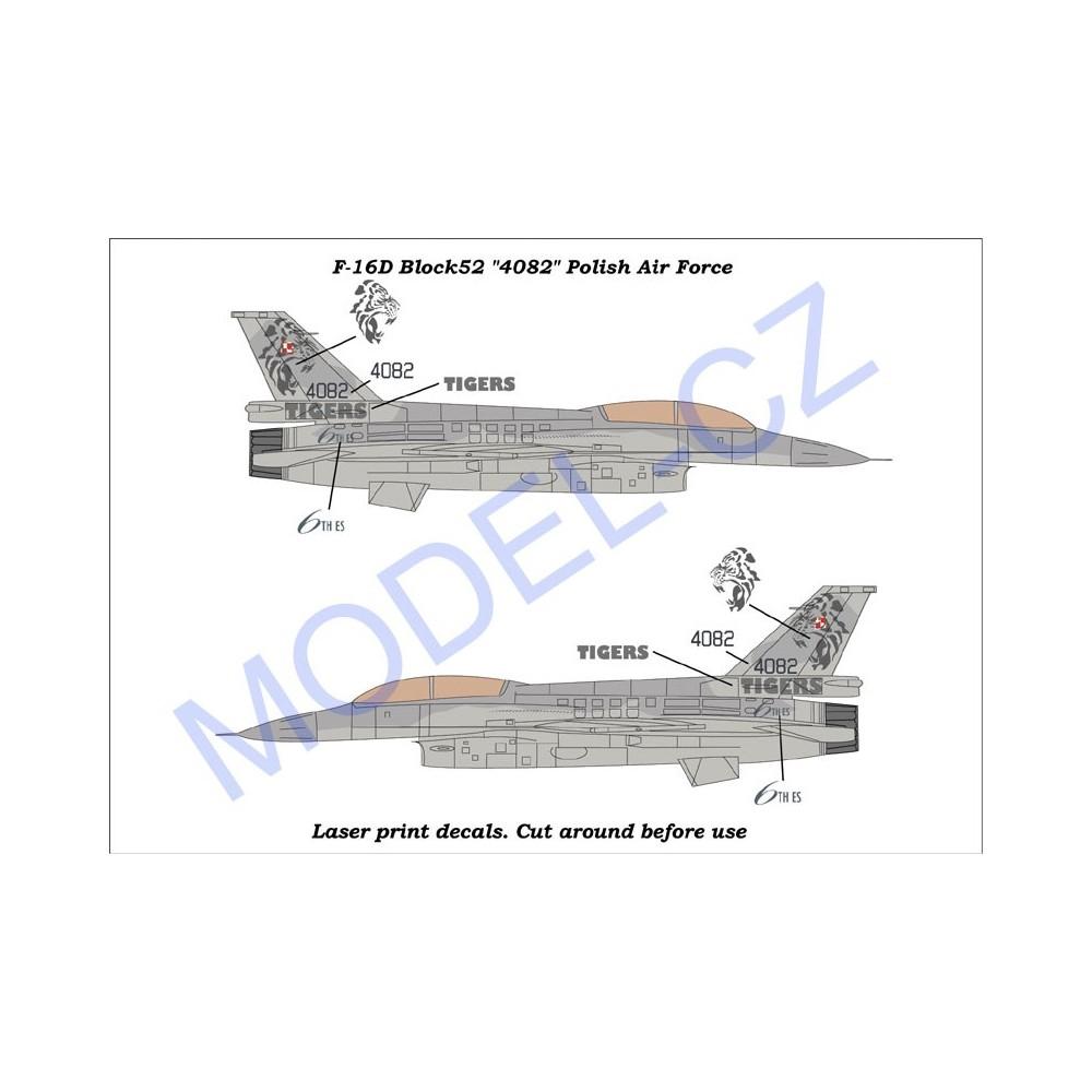 """F-16D Block52+ """"4082"""""""