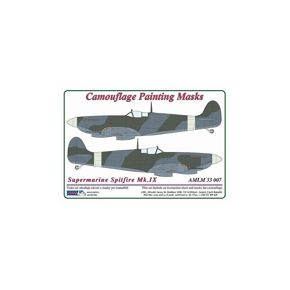 S.Spitfire Mk.IX - Camouflage Painting  Masks