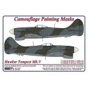 Hawker Tempest Mk.V, WW II Period - Camouflage Painting  Masks