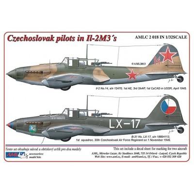 Czechoslovak pilots in Ilyushin Il-2m3´s