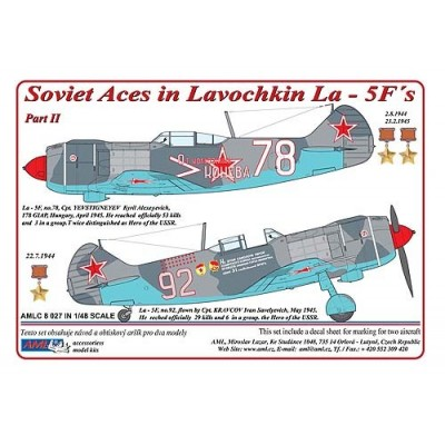 Soviet Aces in Lavochkin La - 5F´s / Part II
