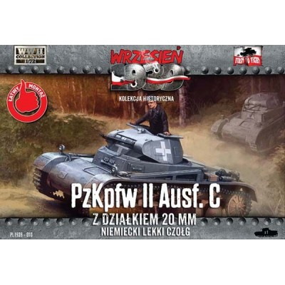 German PzKpfw II Ausf. C  light tank