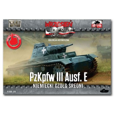 German PzKpfw III Ausf. E medium tank