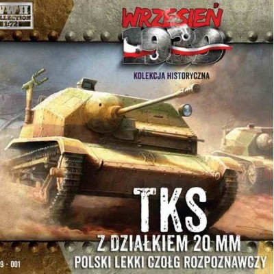 TKS with 20mm gun model