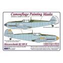 """Messerschmitt Bf 109E  """"Late""""- Camouflage Painting  Masks"""