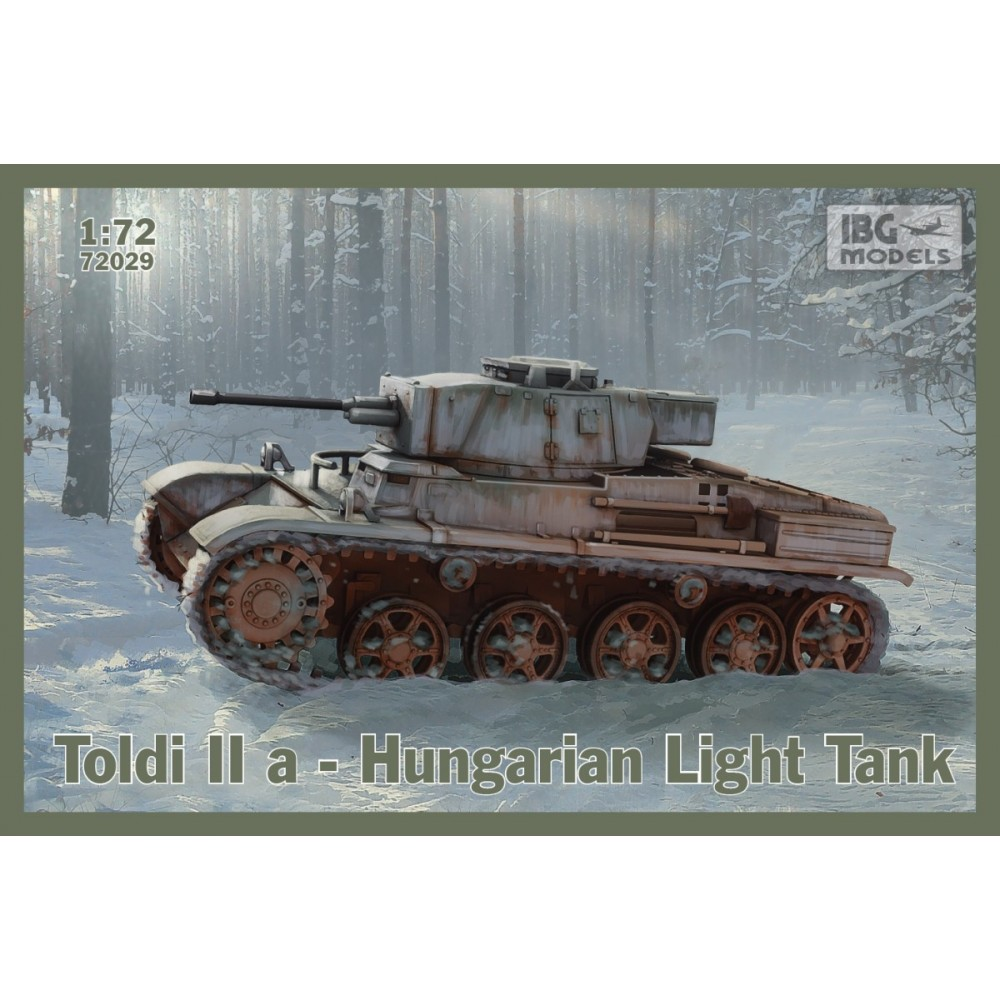 Toldi IIa Hungarian Light Tank